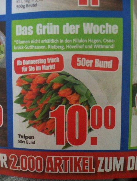 [Edeka E-Center - bundesweit !?] Tulpen 50er Bund für 10€