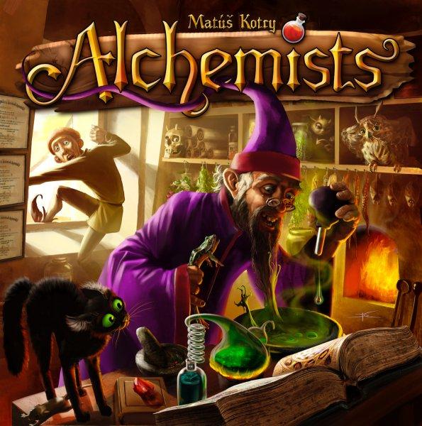 Die Alchemisten - Brettspiel; Heidelberger Spieleverlag/Czech Games Edition (CZ034)