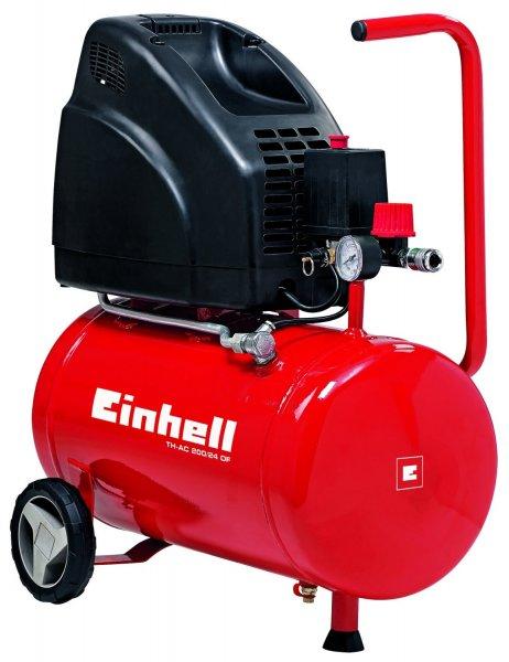 Einhell - Kleiner Kompressor (1,1 kW, 24 L, Ansaugleistung 140 l / min, 8 bar, ölfrei). Super Günstig & Amazon Prime