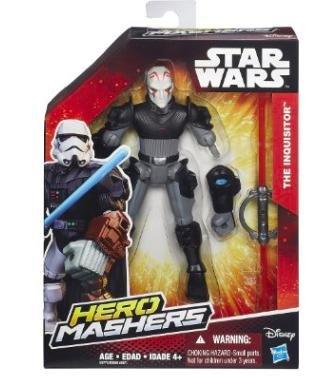 [Amazon Plusprodukt] Hasbro - Star Wars Hero Mashers Basisfiguren, sortiert für 4,35€ statt ca. 18€ + weitere im Kommentar