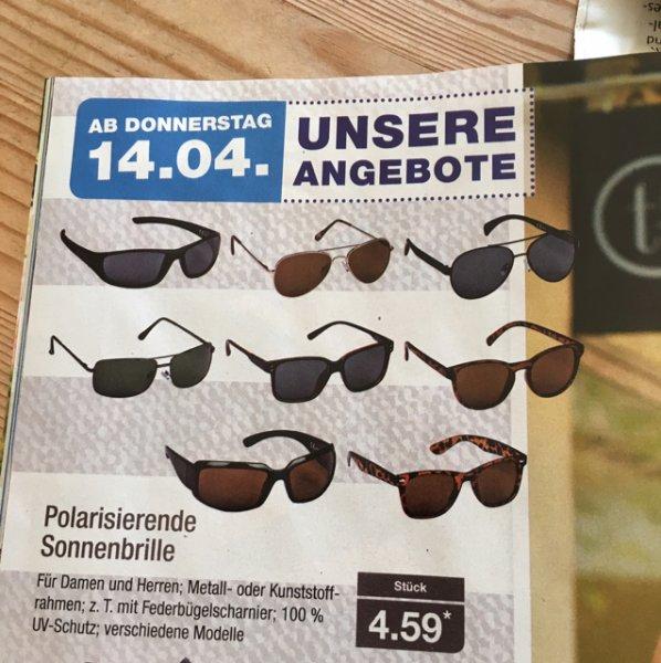 Aldi Nord polarisierende Sonnenbrillen für 4,59€
