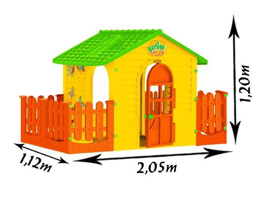 Kinderspielhaus mit Doppel Terrasse XXL bei Amazon statt 199,00€ nur 159,00€