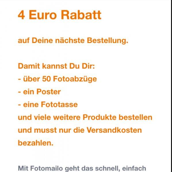Foto Mailo 50 Abzüge, Fototasse, Poster 2,99€