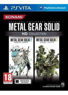 [base.com] Metal Gear Solid HD Collection [PS VITA] für 20,75€ inkl. Versand