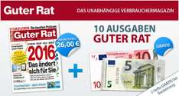 Guter Rat Jahresabo eff. 11€