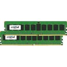 [Vibu Online + Amazon] Crucial DIMM Kit 16GB (2x 8GB, DDR4-2133, CL15) für 48,95€