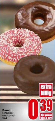[Edeka-Nord] Donuts für 0,39 verschiedene Sorten (mit Coupons ab 0,35)