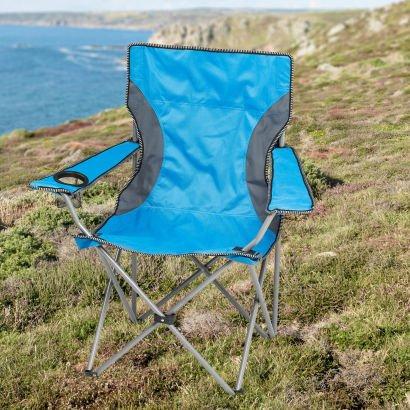 [Aldi Nord ab 18.04.2016] Campingstuhl blau oder grau für 9,99 €