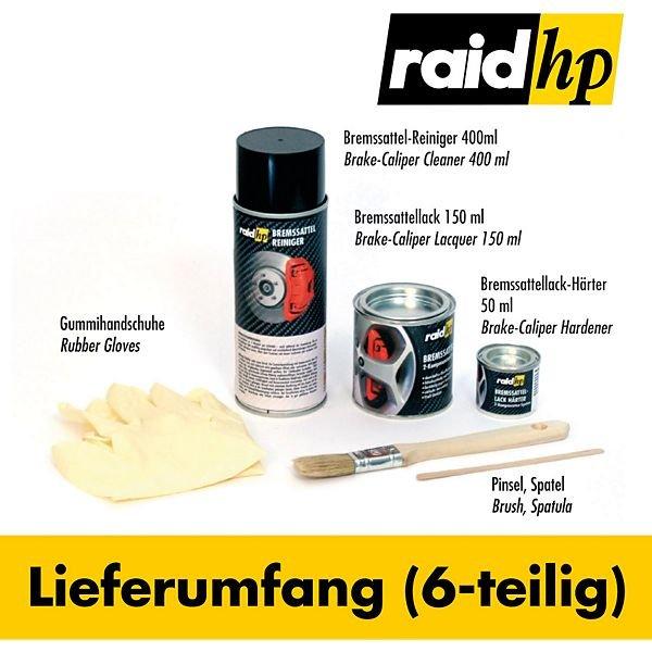 [Plus.de] raid hp Bremssattellack für 14,95 € zzgl. 4,95 € Versandkosten