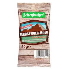 Amazon Prime : Seitenbacher Bergsteiger Müsli Portion, 20er Pack (20 x 50 g) - Nur 10,43 €