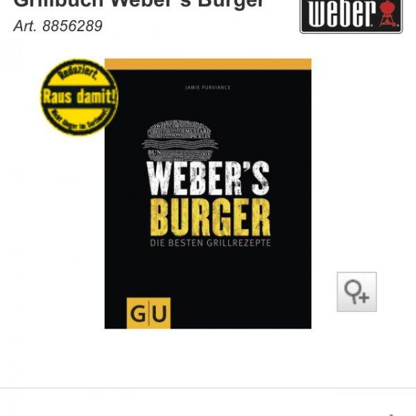 Hornbach evtl bundesweit Weber Grillbücher stark reduziert