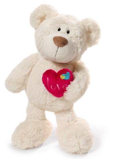 [Amazon Prime] NICI Love Bär 25 cm Teddybär mit Herz für 8,36€ statt ca. 15€