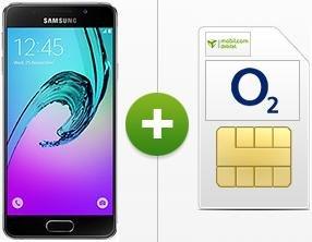 Samsung Galaxy A3 (2016) 49,00 [Einmalig] € + mobilcom-debitel o2 Real Allnet Sondertarif 1500 MB für 14,99 € / Monat