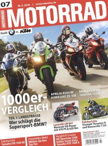 """""""Motorrad"""" Magazin für eff. 37,90€ im Jahresabo (26 Ausgaben)"""
