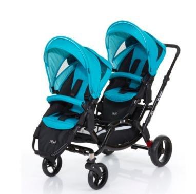[babymarkt.de] Abc Design Geschwisterwagen Zoom coral inkl. 2 Sportwagenaufsätze und 2 Wechselsets für 321,99€ inkl. VSK statt 430€