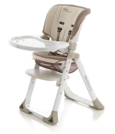 Wieder im Tagesangebot und über 10€ günstiger: JANE Hochstuhl Sigma Dune für 68,24€ inkl. VSK statt ca. 200€ bei [babymarkt]