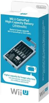 [Wii U] GamePad High-Capacity Battery (2550mAh)