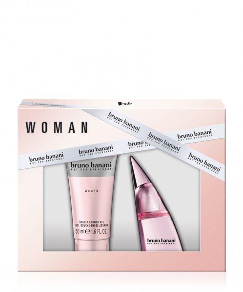 Bruno Banani Woman Geschenkset (20ml Toilettenwasser + 50ml Shower Gel) für 7,95€ (Prime) @Amazon.de | Idealo 12,94€ -> Ersparnis 38,5% (Prime) / 27,7% (Nicht-Prime)
