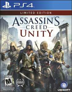 (Amazon.com) Assassin's Creed: Unity - Limited Edition (PS4) für 14,86€