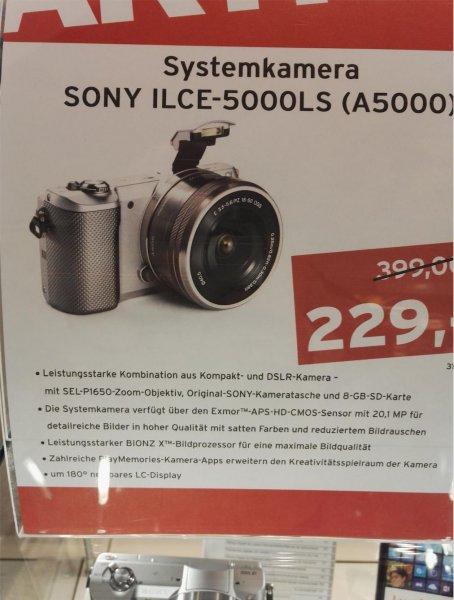 [Lokal - Tchibo Prozente OL] Systemkamera SONY ILCE-5000LS (A5000)