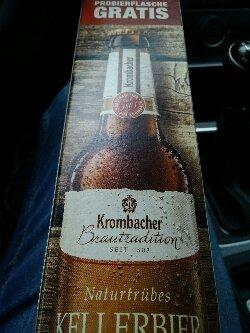[Edeka Velbert] Krombacher Kellerbier 0,33L