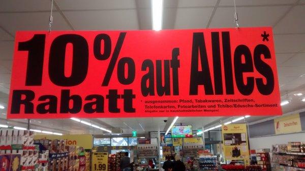[Lokol Netto Steinfurt] 10% Rabatt auf Alles! (zB Milka für 0,71€)