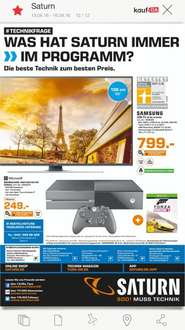 [Saturn Hamburg] Xbox One 500GB + Forza Horizon 249€