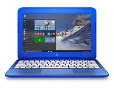 "HP Stream 13-c100nl Notebook, Processore Intel Celeron N3050, RAM 2 GB, eMMC 32 GB, Intel Graphics HD, Display 13"", Windows 10, Blau"