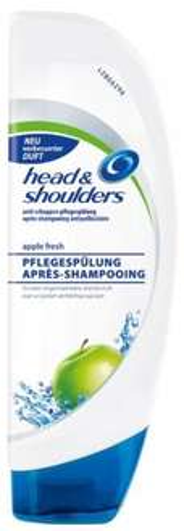 [DM] Bundesweit Head&Shoulders  Pflegespülung Apple Fresh RED LABEL für 1,45 (-1 € Coupon+10%=0,40€)