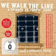 (Saturn) A Tribute To Johnny Cash - We Walk The Line (DVD + CD) für 2,99€