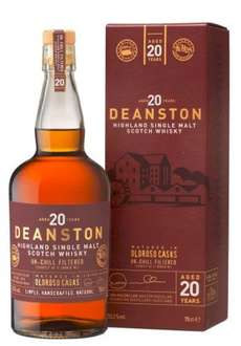 Deanston 20 Jahre 0,7 Liter 55,3 % @whiskysite.nl