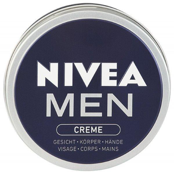 [Amazon] Nivea Men Creme Tiegel, 4er Pack (4 x 150 ml) BLITZDEAL