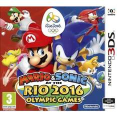 (3DS/TGC) Mario & Sonic At The Rio Olympic Games 2016 für 30,10€
