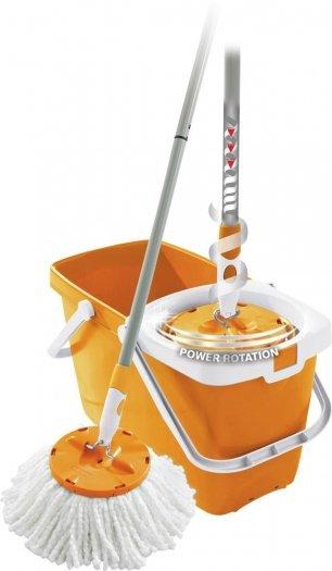 [Voelkner] Leifheit Set Clean Twist Mop Gelb für 27,99 Euro inkl. Versand