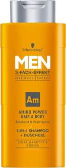 [Amazon] Schwarzkopf MEN 2in1 Shampoo + Duschgel Amino Power Hair, 4 x 250 ml