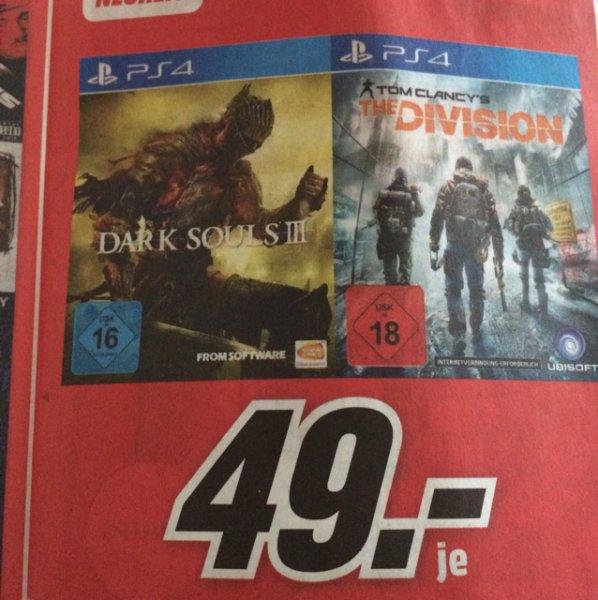 [Lokal] Dark Souls 3 (PS4) MediaMarkt Koblenz/Neuwied