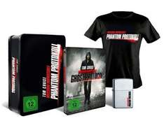 [MediaDealer] Mission: Impossible - Phantom Protokoll - Steelbook Collector's Edition inkl. Zippo + T-Shirt Größe L (Blu-ray) für 26,98€ inc Versand