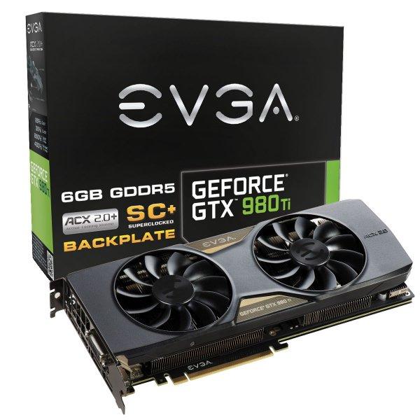 EVGA GeForce GTX 980 Ti SC+ für 641€ - 25€ Cashback + Upgrade auf GTX 1080 Pascal möglich