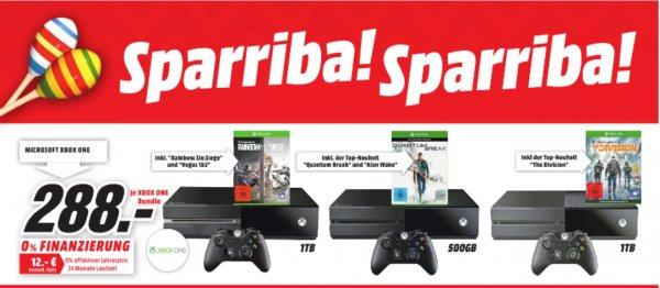 [Lokal Essen , Dorsten und Duisburg ] Xbox One 500GB/1TB Bundles für 288 Euro evtl. Bundesweit ?