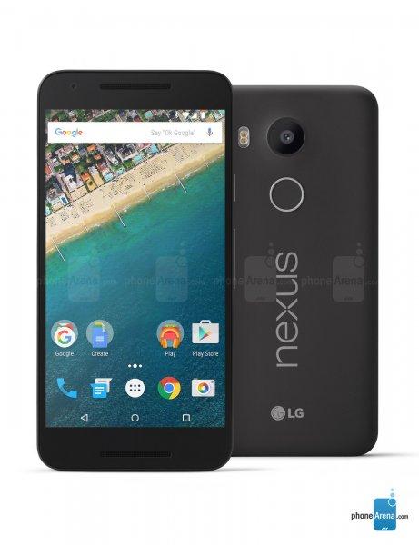 Gogle Nexus 5x 32GB Carbon für 281€