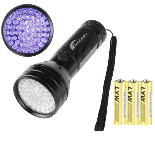 Amazon - UV-Taschenlampe (51 LEDs) - für 9,99€ mit Prime
