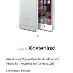 iPhone 6/6s hülle gratis!