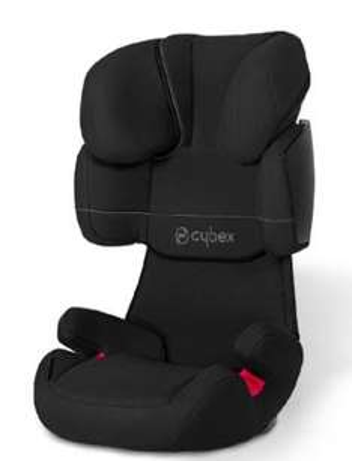 [babymarkt.de] CYBEX SILVER Kindersitz Solution X Pure Black für 84,99€ inkl. VSK statt 96€