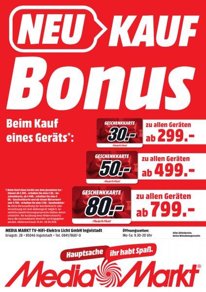 [lokal Ingolstadt/Hamburg/Elmshorn] SAMSUNG UE48J5670SU LED TV (Flat, 48 Zoll, Full-HD, SMART TV) für 499€ + 50€ Media Markt Geschenkkarte - nur heute