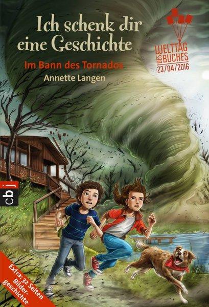 """Gratis Kinderbuch in der Hugendubel - Filiale: """"Ich schenk Dir eine Geschichte - Im Bann des Tornados"""""""