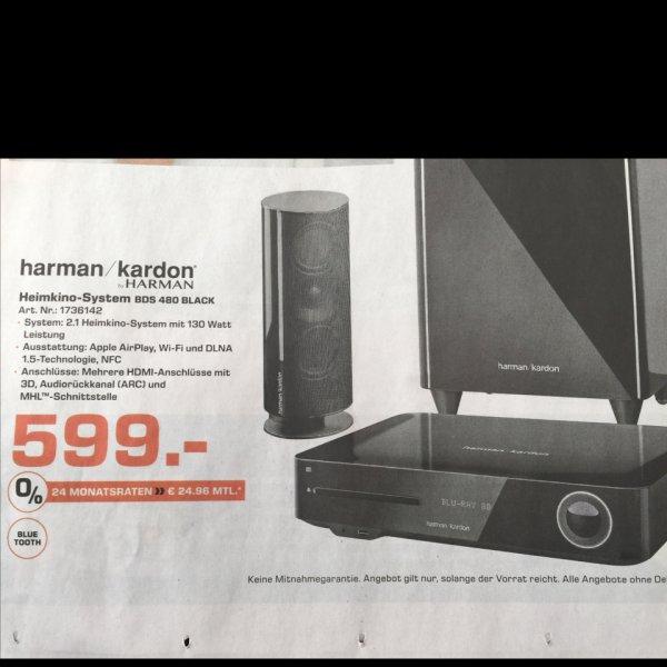 Harman/Kardon BDS 480 Black Heimkinosystem für 599 € | Saturn Bielefeld
