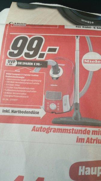 [LOKAL MediaMarkt Berlin/Brandenburg] MIELE Compact C1 Twister Ecoline
