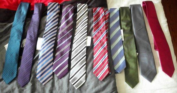 Diverse Krawatten bei Magowsky (OFFLINE in OWL) mit bis zu >90% Rabatt