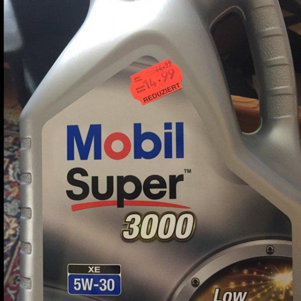 Mobil Super 3000 5W30 Öl