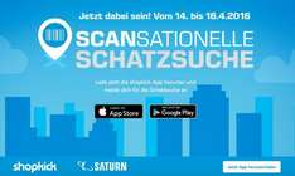 (Lokal Saturn Berlin + Potsdam) 10 Euro Gutschein mit kleinen Aufwand erhalten mit der Shopkick App